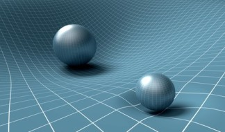 sphere is affecting space / time around it .