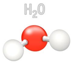 H2O Wasser Molekl